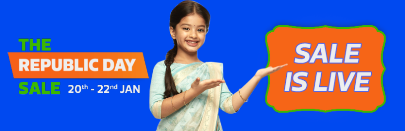 Flipkart Republic Sale is On 20th – 22nd Jan 2019