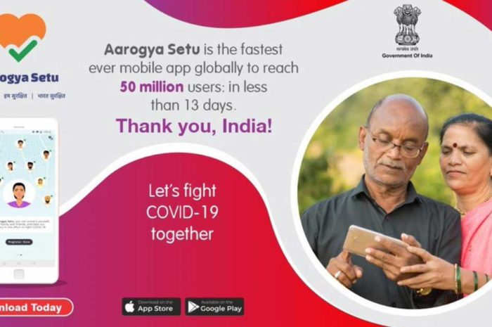 Aarogya Setu App becomes world's highest downloaded app in just 13 days